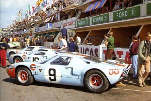 Ford GT40 - 1968 24 Hours of Le Mans