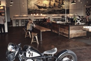CB750 in Coffee Shop