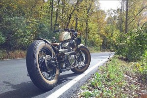 Virage8_Bobber on the road