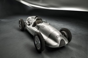 Auto Union Type D twin-supercharger Silver Arrow