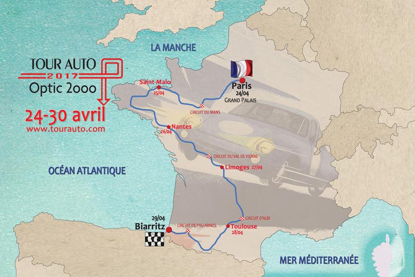 TOUR AUTO ; VOITURES ; PETER AUTO ; OPTIC 2000 ; PORSCHE ; FERRARI ; JAGUAR