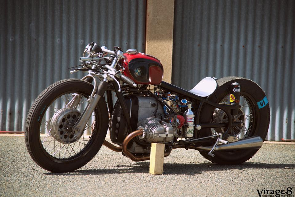 VIRAGE8 ; BMW ; MOTO ; LUCKY CAT GARAGE ; SULTANS OF SPRINT